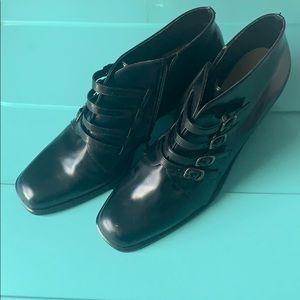 Bernardo black ankle boots
